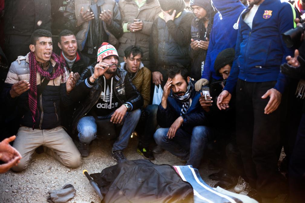 Idomeni, Görögország, menekültek